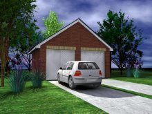 GARAGE TYPE :: Double Garage - Gable Fronted (GP/013)